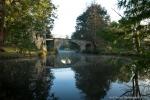 Pont dans le parc de Majolan