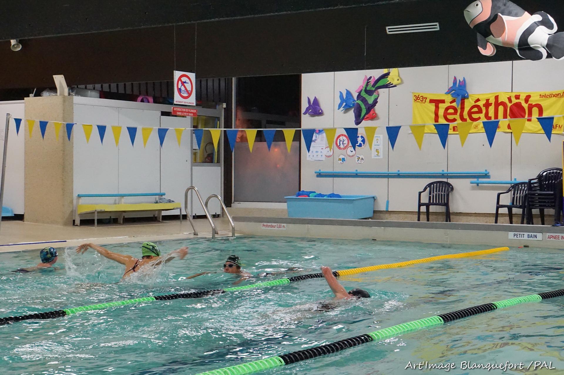 T l thon 2016 piscine art 39 image blanquefort for Piscine blanquefort